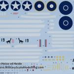 132 Hasegawa 08199 P 40M Warhawk 03 Decalsheet (By Boris Kamp)