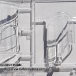 132 Hasegawa 08199 P 40M Warhawk VXY sprue detail (By Boris Kamp)
