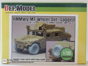 HMMWV MT Wheel set (DEF Model DW35003A)