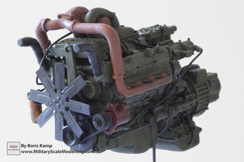 Engine Set for M1070 HET (Real Model RMA 35231)