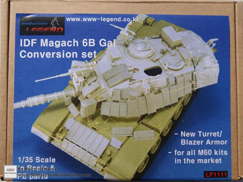 Magach 6B Gal conversion set (Legend LF1111)