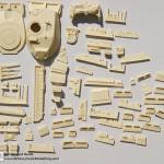 All resin Legend Magach 6B Gal conversion LF1111 (By Boris Kamp)