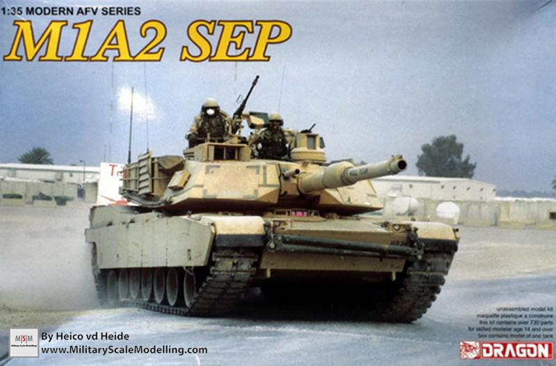 M1A2 SEP Abrams (Dragon 3536)