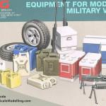 000 Boxart Equipment set for modern US military vehicles Meng SPS 0141 (By Boris Kamp)
