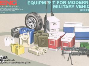 Equipment set for modern US military vehicles (Meng Model SPS-014)
