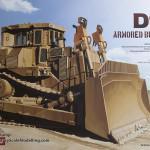 00 Boxart (1:35 D9R Armored Bulldozer Meng SS-002) (By Boris Kamp)