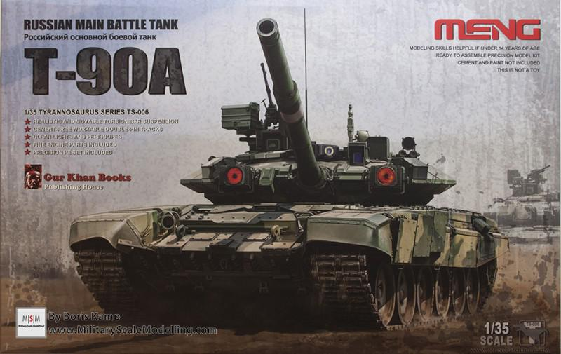 T-90A Russian MBT (Meng Model TS-006)