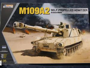 M109A2 Self Propelled Howitzer (Kinetic K61006)