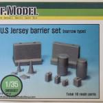 01 Boxart U S  Jersey Barrier Set narrow type DEF Model DM35007 (By Boris Kamp)