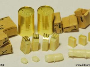 WWII Allied Vehicle Accessory and Stowage set type 1 (ET Model J72-010)