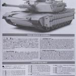 02 Instruction sheet Tamiya M1A2 SEP Abrams TUSK II review (By Boris Kamp)