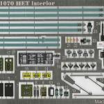 03 Colored Photo Etched sheet RMA 35239 M1070 HET Interior Set (By Boris Kamp)