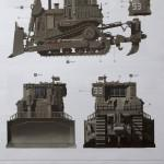 03 Paint Scheme C (1:35 D9R Armored Bulldozer Meng SS-002) (By Boris Kamp)