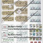 04 Accesoires for the cabin RMA 35239 M1070 HET Interior Set (By Boris Kamp)