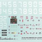 04 Decals 135 D9R Armored Bulldozer Meng SS 002 (By Boris Kamp)