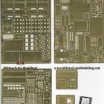 08 E35 133 M1000 Heavy Equipment Trailer Photo Etched Sheet Overview (By Boris Kamp)