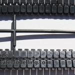 08 - Track detail outside - (Tamiya M1A2 SEP Abrams TUSK II) review (By Boris Kamp)