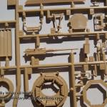 P sprue detail Tamiya M1A2 SEP Abrams TUSK II review (By Boris Kamp)
