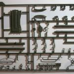 Sprue B 135 T 90A MBT MENG Model TS 006 (By Boris Kamp)