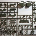 Sprue D 135 T 90A MBT MENG Model TS 006 (By Boris Kamp)