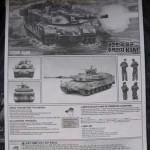 003 instructions R O K  K1A1 MBT Academy 13215