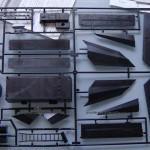 005 content of the box F 117A Nighthawk Tamiya 61059