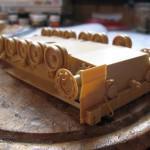 006 construction of the hull R O K  K1A1 MBT Academy 13215