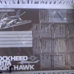 008 content of the box F 117A Nighthawk Tamiya 61059