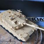 009 pictures of the fully constructed model R O K  K1A1 MBT Academy 13215