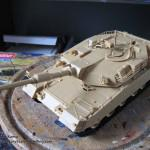 010 pictures of the fully constructed model R O K  K1A1 MBT Academy 13215