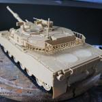 012 pictures of the fully constructed model R O K  K1A1 MBT Academy 13215