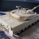 013 pictures of the fully constructed model R O K  K1A1 MBT Academy 13215