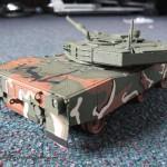 018 applied the camo pattern R O K  K1A1 MBT Academy 13215