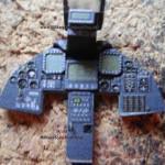 032 added the see trough display F 117A Nighthawk Tamiya 61059
