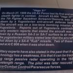 035 Finished F 117A Nighthawk diorama Tamiya 61059