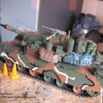 047 all the baggage painted but not yet weathered R O K  K1A1 MBT Academy 13215