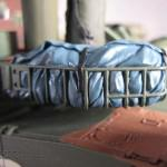 048 all the baggage painted but not yet weathered R O K  K1A1 MBT Academy 13215