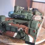 049 all the baggage painted but not yet weathered R O K  K1A1 MBT Academy 13215