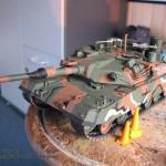 050 all the baggage painted but not yet weathered R O K  K1A1 MBT Academy 13215