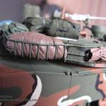 052 all the baggage painted but not yet weathered R O K  K1A1 MBT Academy 13215