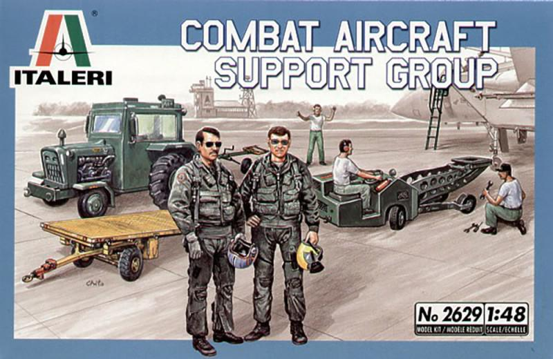 Combat Aircraft Support Group (Italeri 2629)