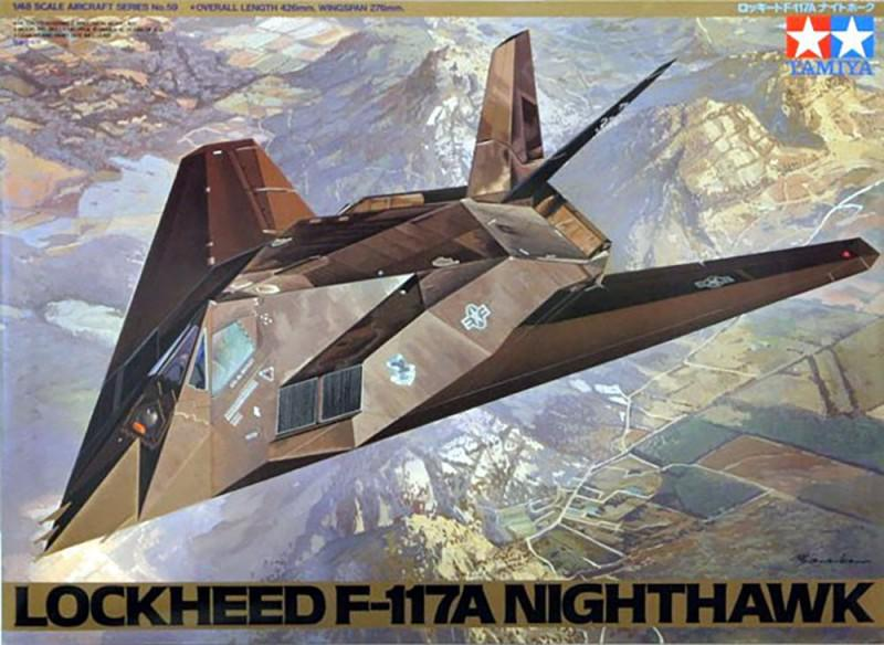 F-117A Nighthawk (Tamiya 61059)