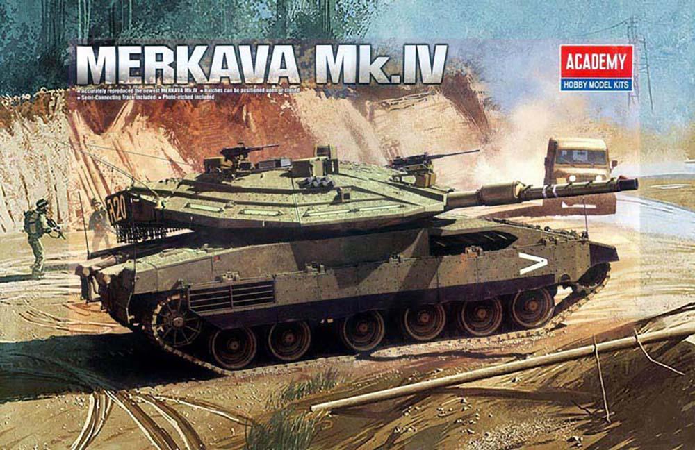Merkava Mk. IV (Academy 13213)