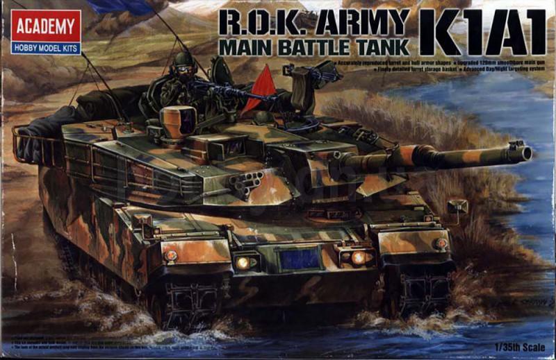 R.O.K. Army K1A1 Main Battle Tank (Academy 13215)