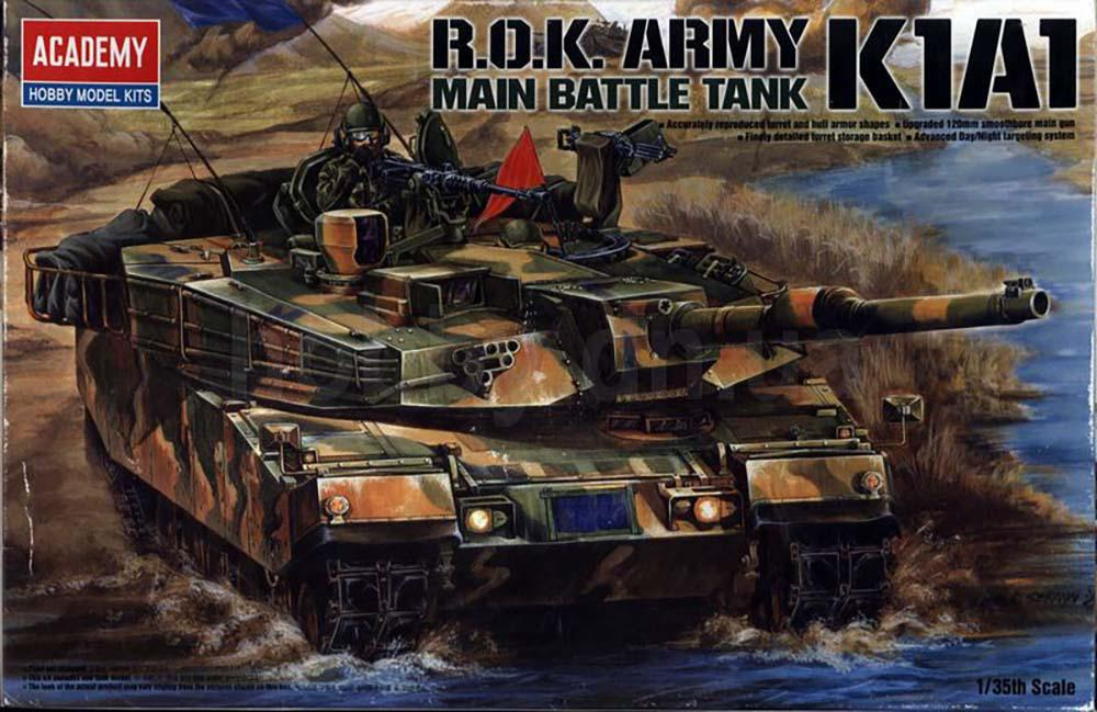 R.O.K. Army K1A1 Main Battle Tank (Academy 13215)