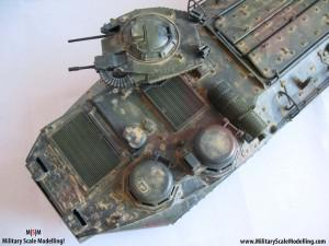 Weathering How to :  The Dust Effect with pigments