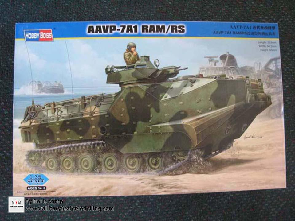 The boxart (AAVP-7A1 RAM RS Hob­byBoss 82415)