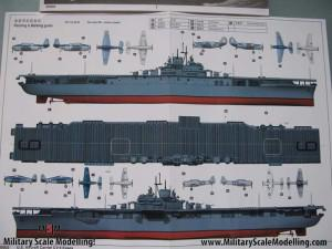 003 nice paint scheme JPG USS ESSEX CV9 In Progress Pictures