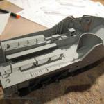 005 working on the interior AAVP 7A1 RAM RS HobbyBoss 82415