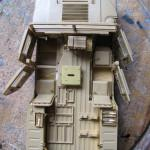 007 a almost fyllo constructed kit with PE M1025 Humvee Arnament Carrier Tamiya 35263